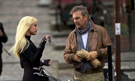 3 Days to Kill with Kevin Costner and Amber Heard