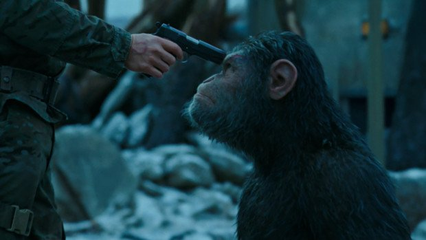 猿の惑星聖戦記は猿が出てこないネタバレと感想